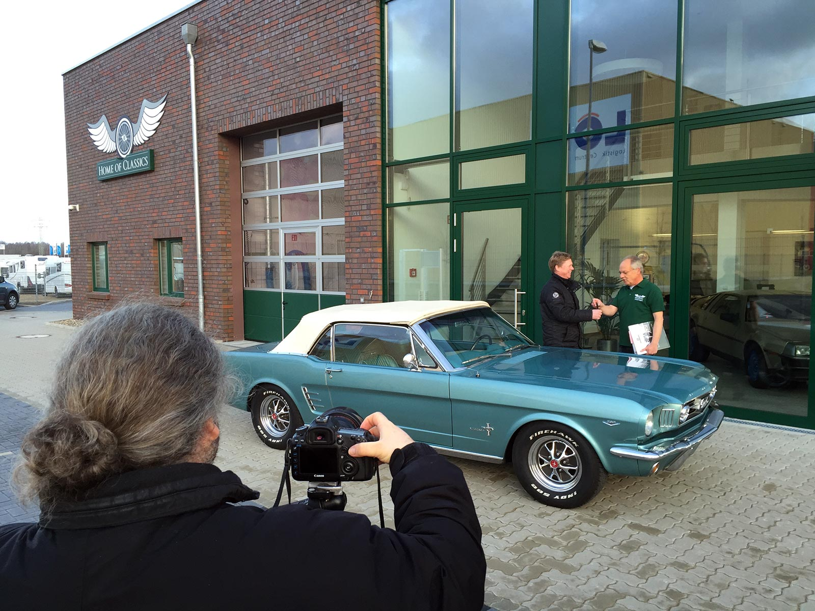Fotoshooting bei Home of Classics
